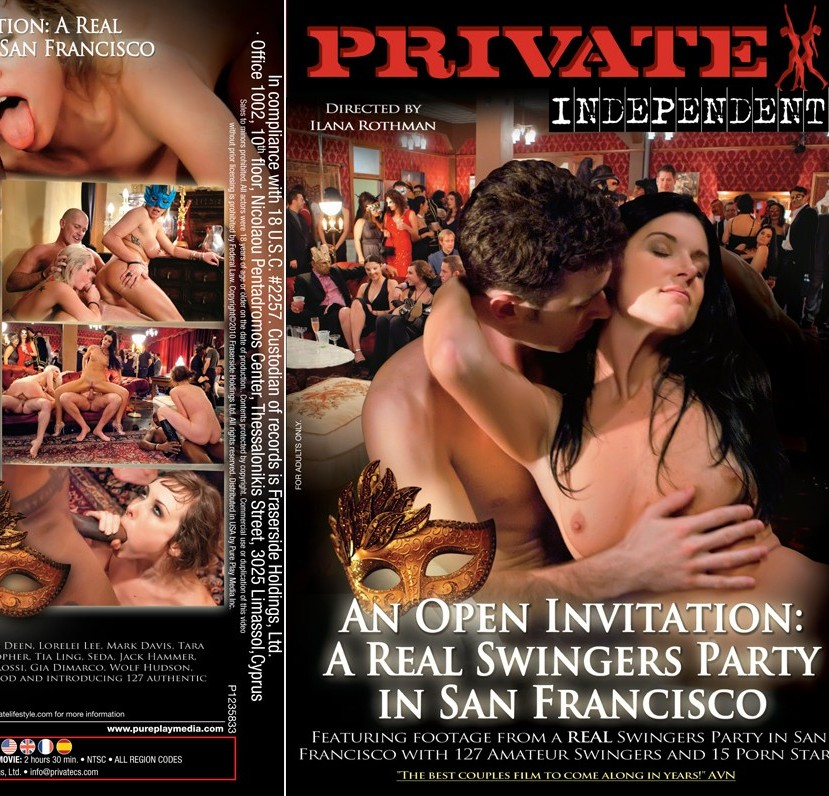 20+ Private Independent 2 An Open Invitation A Real Swingers Party in San Francisco Adult Movie XXX ดูหนังโป๊ฝรั่ง [20+]
