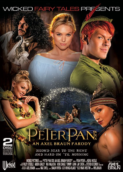 Peter Pan XXX An Axel Braun Parody (2015) 5 Scene Riley Vicki Adult Movie ดูหนังโป๊ฝรั่ง [20+]
