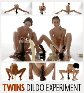 HegreArt – Julietta And Magdalena Twins Dildo Experiment 2016